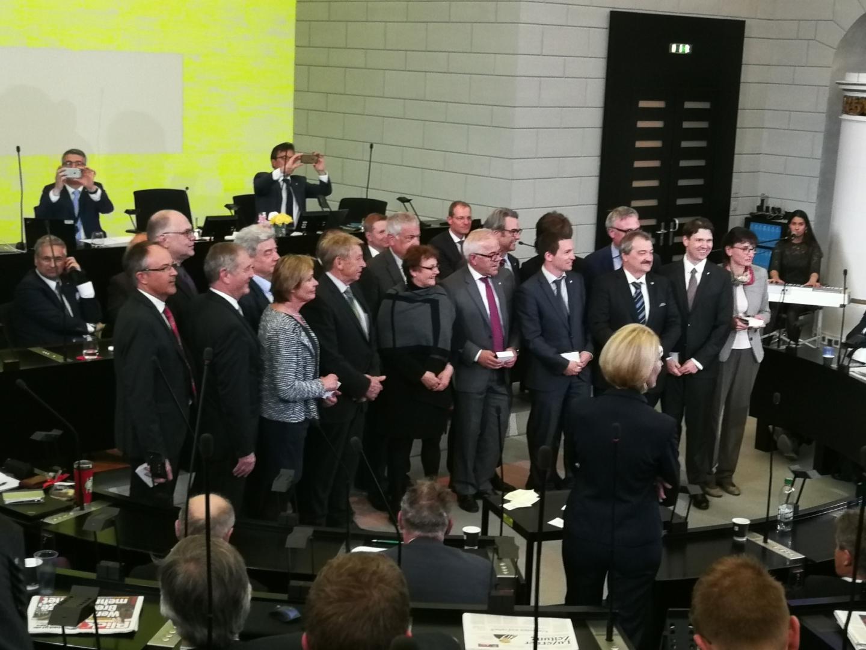 Sessions Ende und Verabschiedungen im Kantonsrat