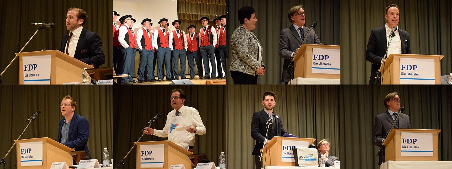 Delegiertenversammlung FDP in Entlebuch